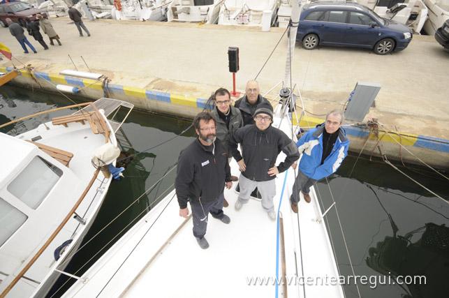 Aitor, José Mª, Ricardo, Vicente y Carles