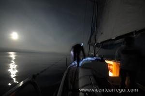 Noche mágica en la regata Ophiusa