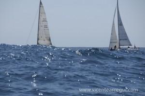 Mar de fondo en la regata Maresme Nord