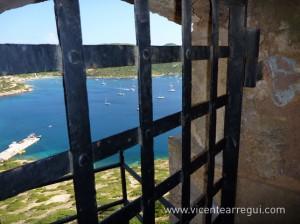 Bahía de Cabrera desde el castillo