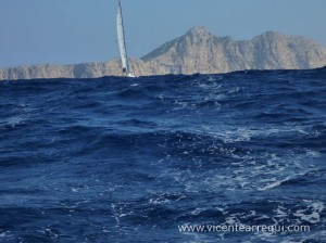 Mar de fondo debido al temporal de NE en Menorca