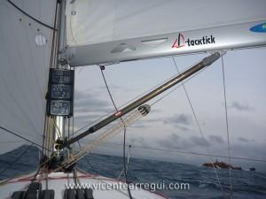 Librando las islas Formigues con el A31