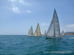 Salida en regata Maresme (Mentha, First 45S5)