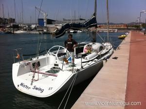A40 Mr Swing en Marina Badalona