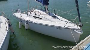 """Tucana Sail """"Lolita 3"""" amarrado en puerto"""